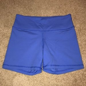 Blue Exercise Shorts